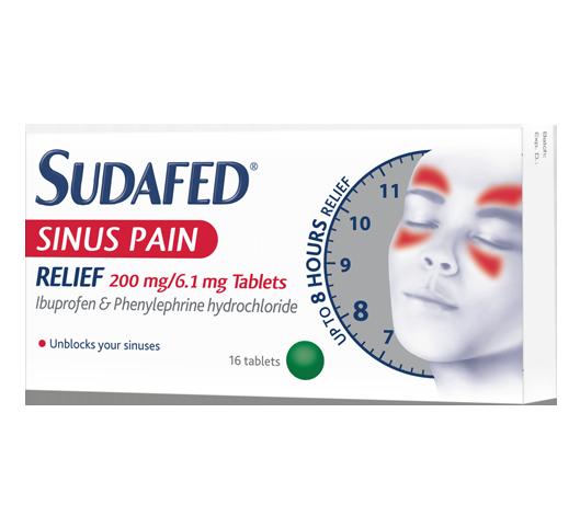 Sudafed Sinus Pain Relief