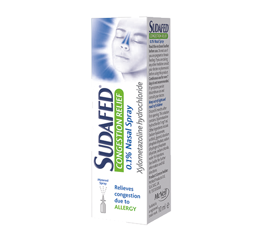 SUDAFED® Congestion Relief Nasal Spray